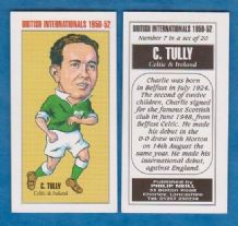 Northern Ireland Charlie Tully Glasgow Celtic 7